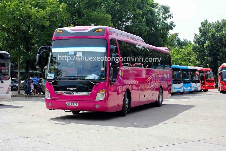 Dịch vụ cho thuê xe du lịch Ngọc Minh giá rẻ tại Hà Nội