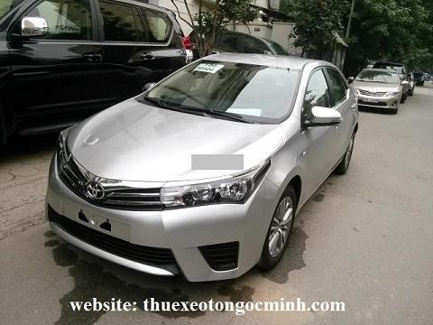 thuê xe tháng 4 chỗ altis tại Hà Nội