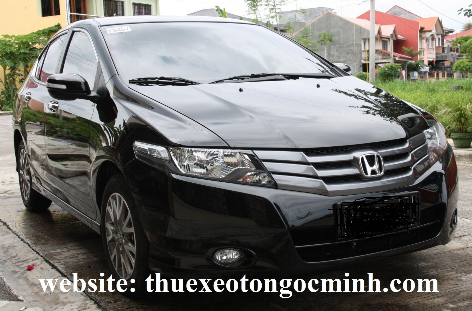thuê xe tháng 4 chỗ Honda city tại Hà Nội