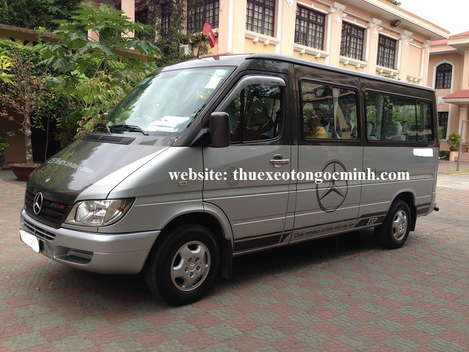 Thuê xe tháng 16 chỗ mercedes sprinter tại Hà Nội