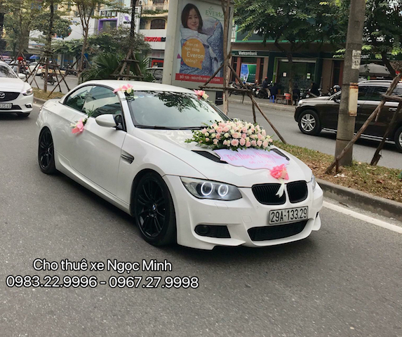 Thuê xe cưới BMW tại Hà Nội