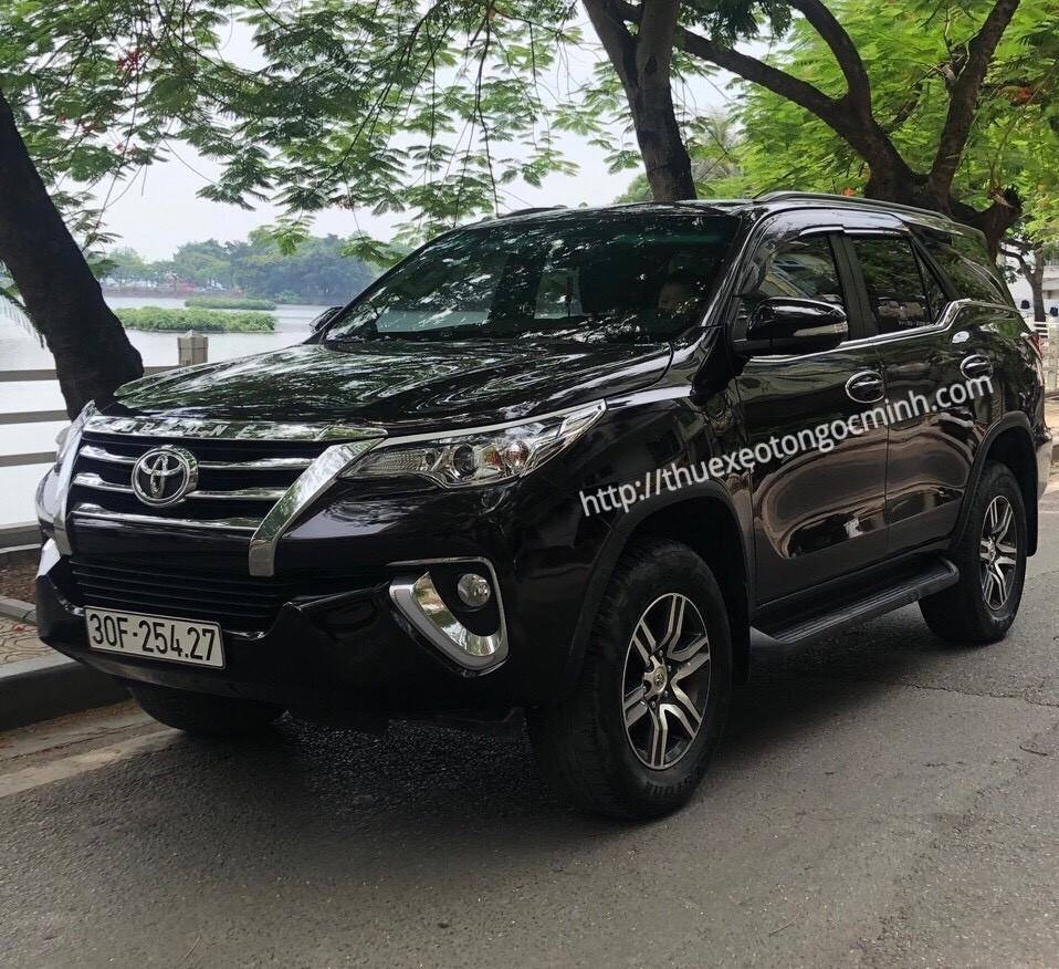 Thuê xe Fortuner Hà Nội