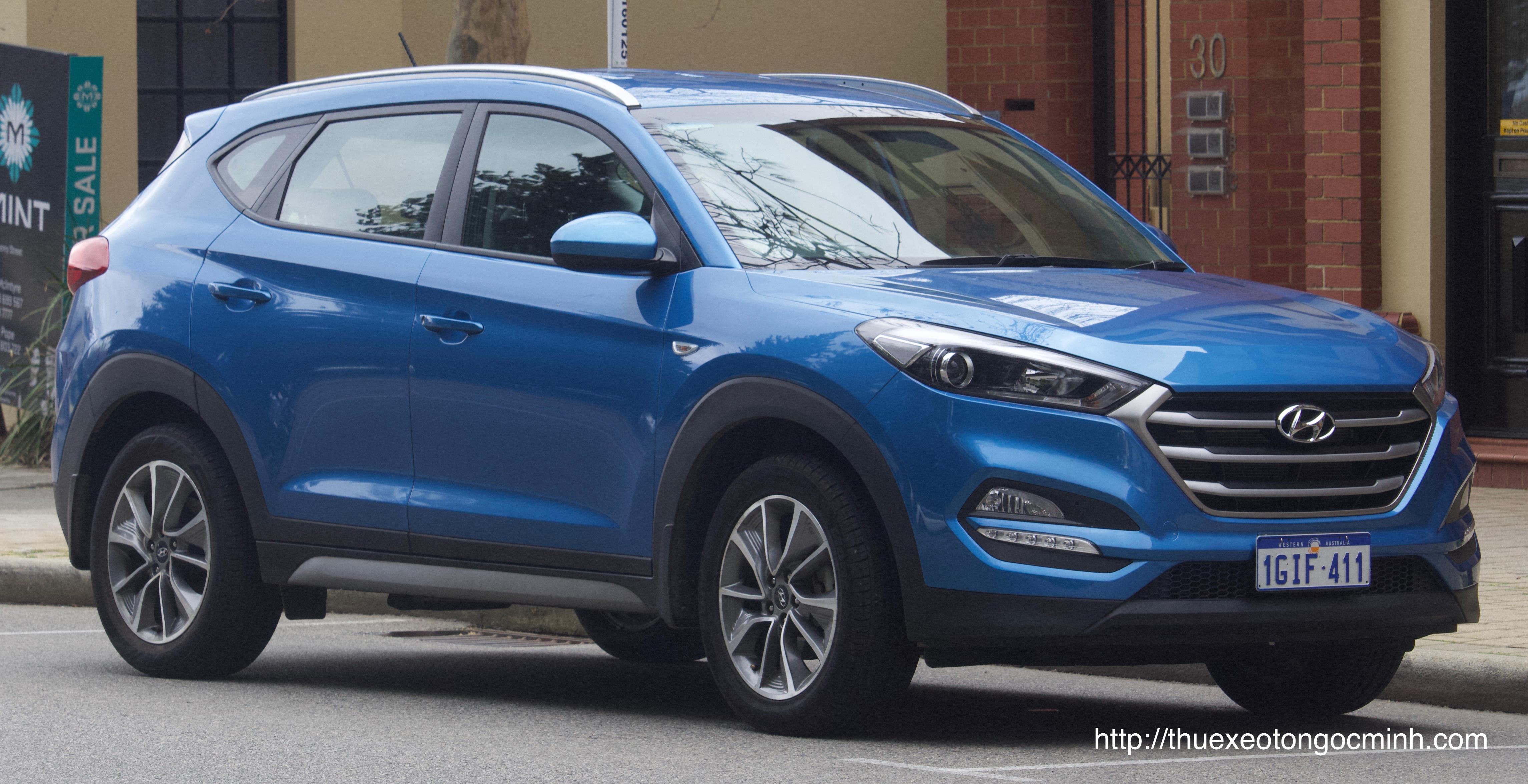Hyundai Tucson 2017 ra mắt với giá rẻ bất ngờ 815 triệu đồng