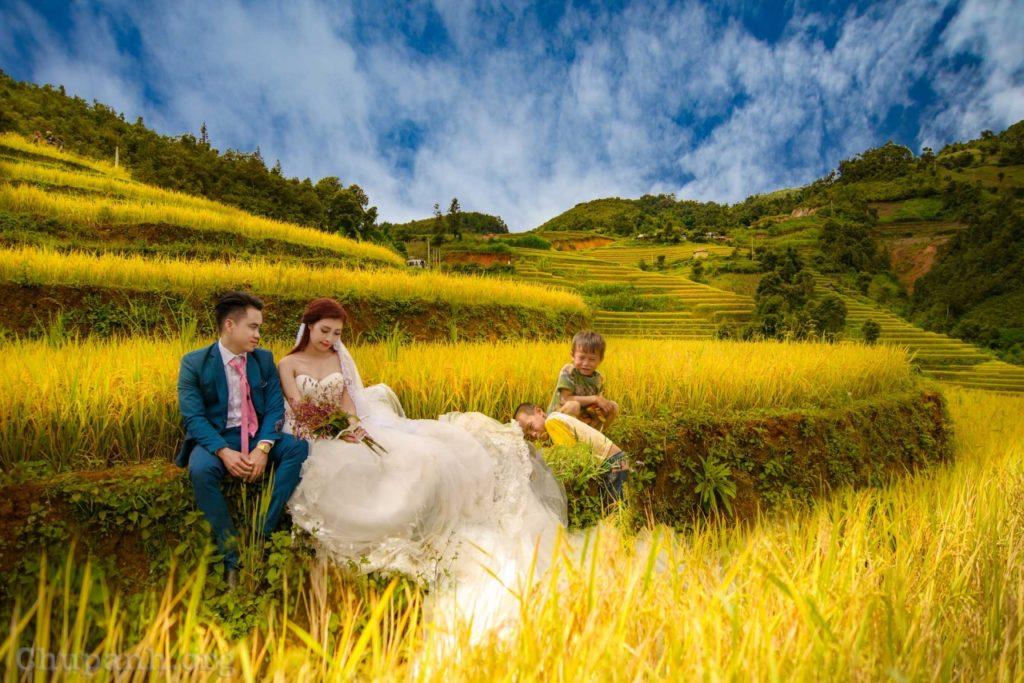 Miền núi cao – địa điểm tuyệt vời chụp ảnh cưới của những đôi uyên ương