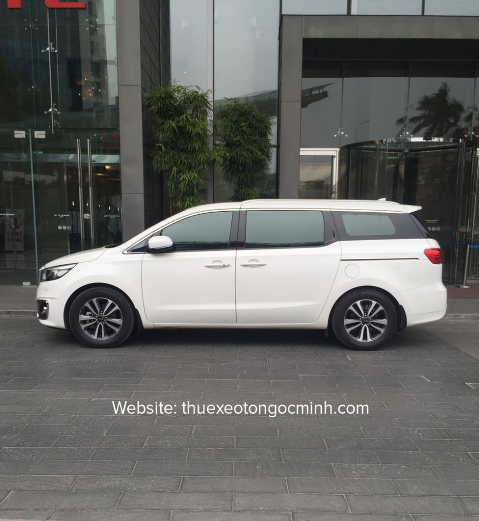 Dịch vụ cho thuê xe Sedona có lái tại Hà Nội