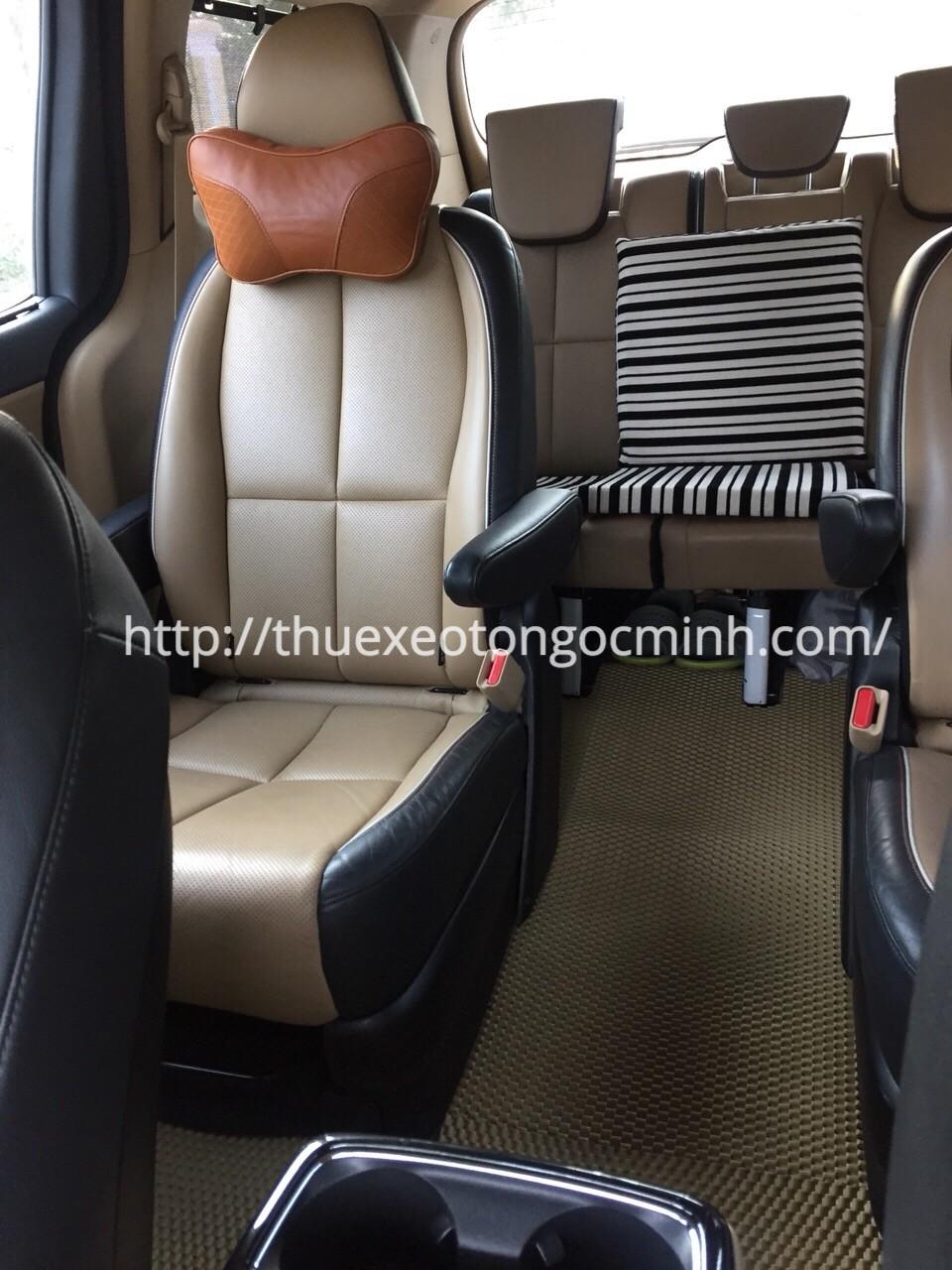 Dịch vụ cho thuê xe Kia Sedona đi city giá rẻ tại Hà Nội