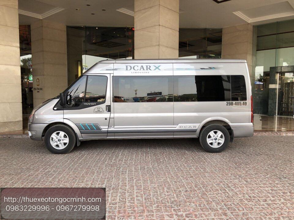 Dịch vụ cho thuê xe 9 chỗ Dcar X tại Hà Nội