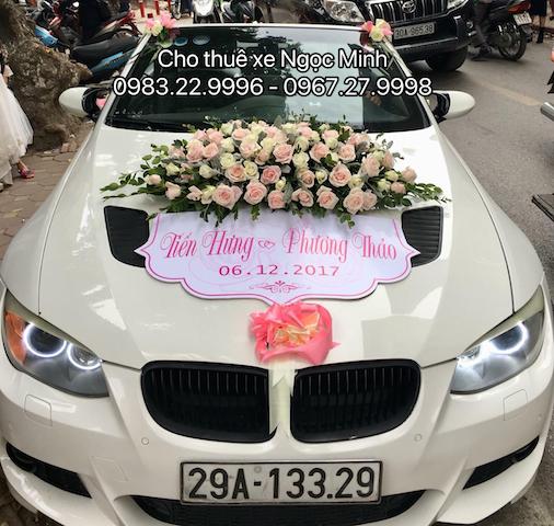 Dịch vụ cho thuê xe cưới giá rẻ tại quận Cầu Giấy