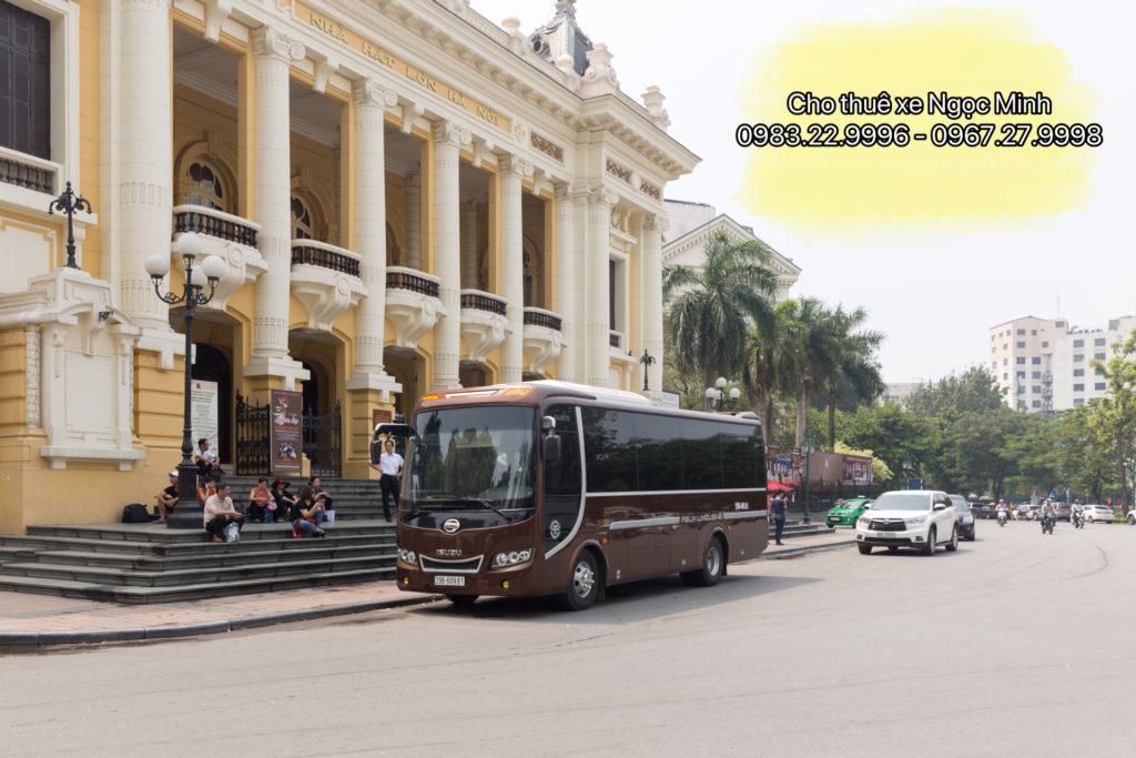 Thuê xe 17 chỗ Samco Felix Limousine tại Hà Nội