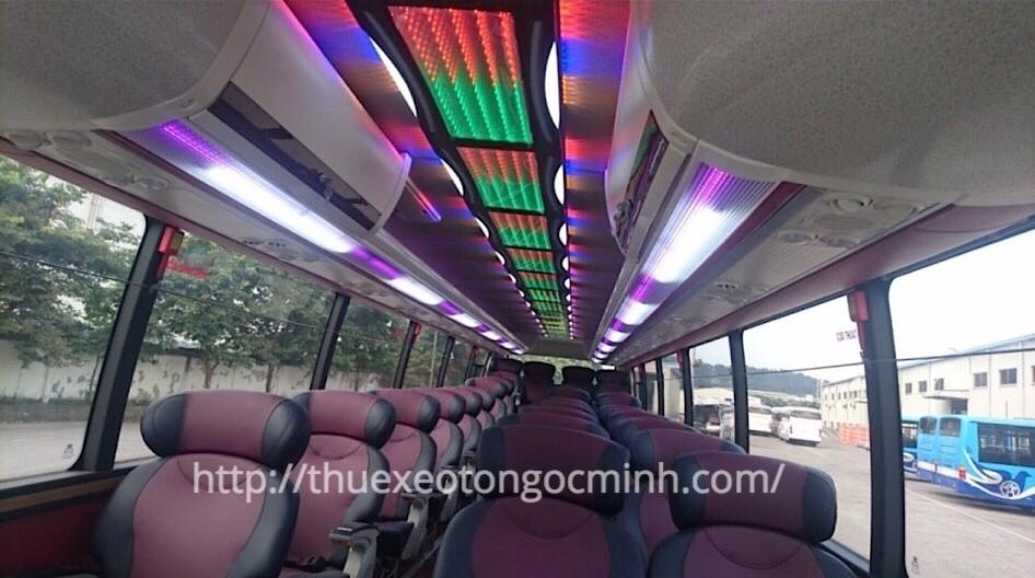 Thuê xe FX120 Limousine 29 chỗ tại Hà Nội