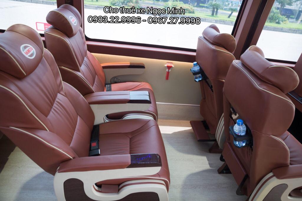 Cho thuê xe Samco Felix Limousine 17 chỗ tại Hà Nội