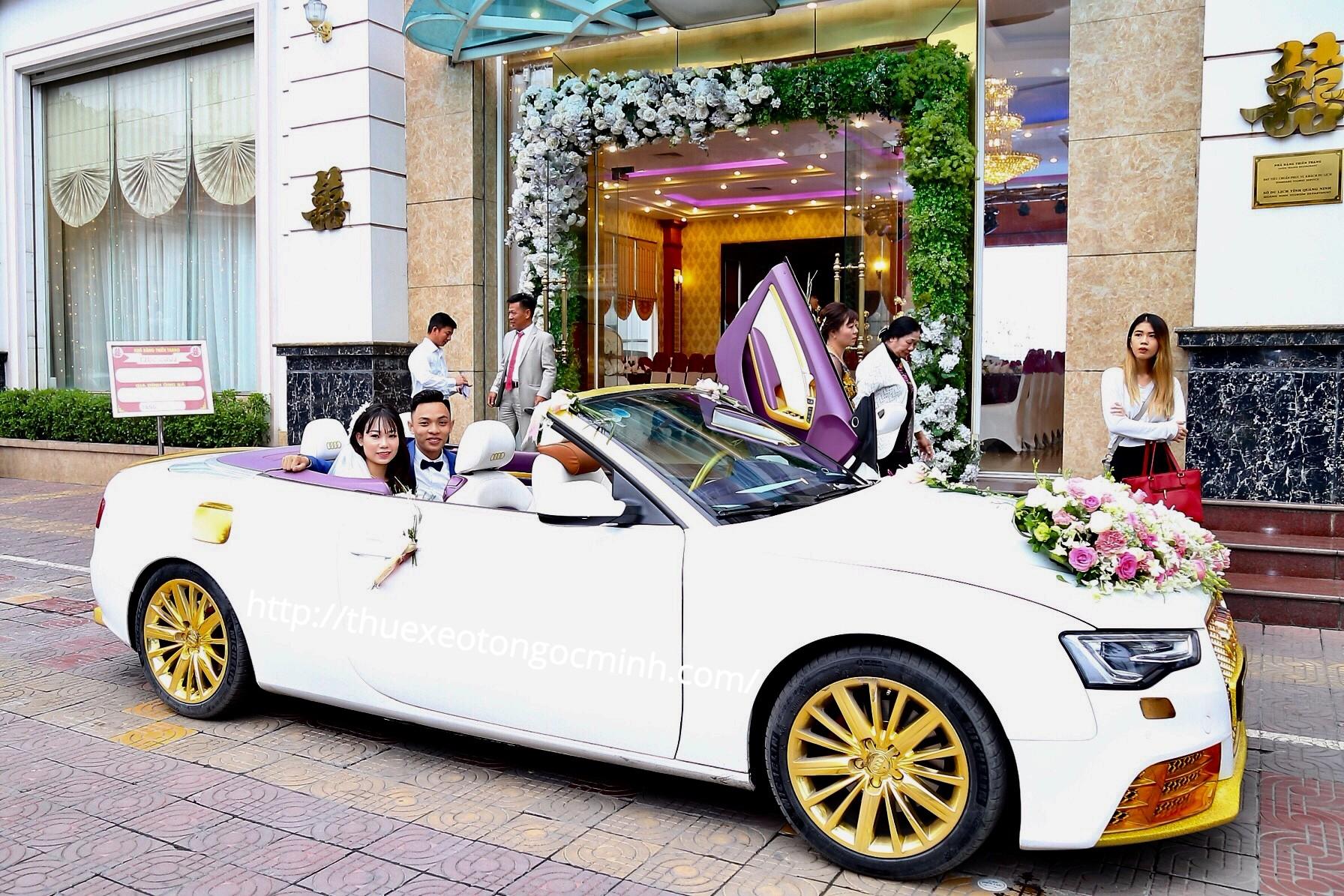 Cho thuê xe cưới mui trần Audi RS5