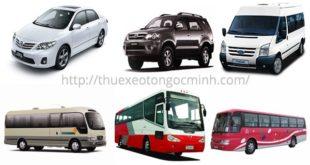 Dịch vụ cho thuê xe du lịch Ngọc Minh