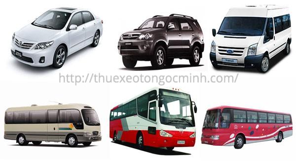 Cho thuê xe 4, 7, 16, 29, Limousine đi Hà Tĩnh