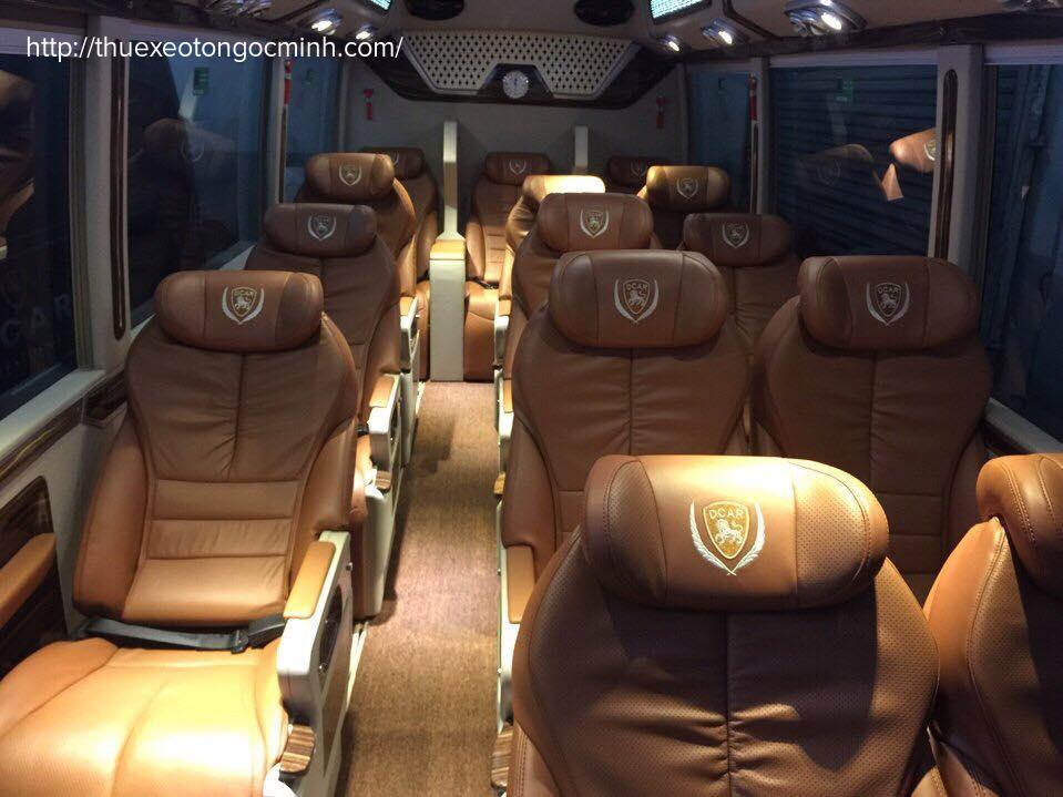 Dịch vụ cho thuê xe Fuso Limousine 16 chỗ chất lượng