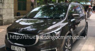 Thuê xe Sedona 7 chỗ giá rẻ
