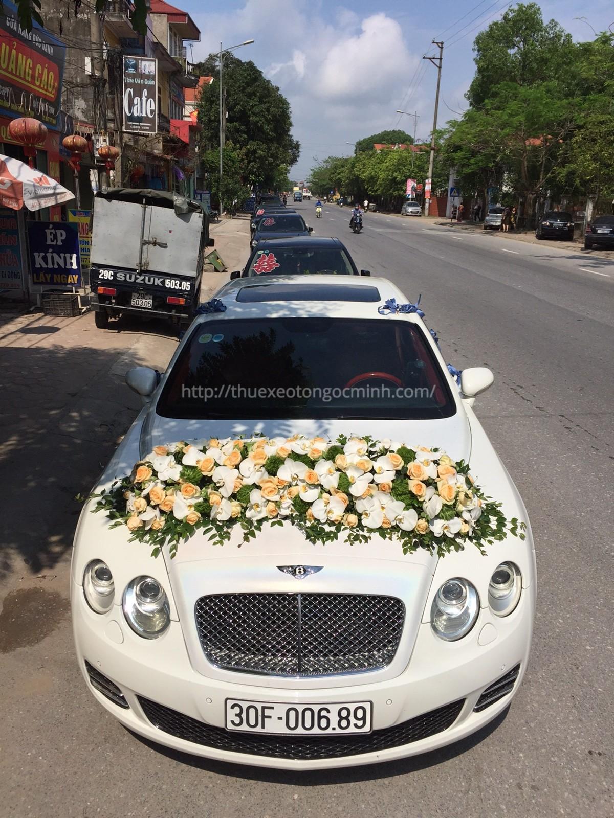 Thuê xe cưới đẹp tại công ty Ngọc Minh