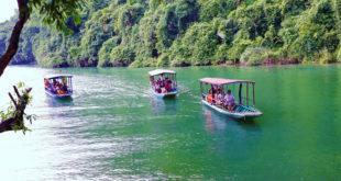 Cho thuê xe du lịch đi hồ ba bể