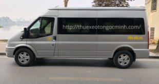 Cho thuê xe đưa đón nhân viên giá tốt nhất Hà Nội