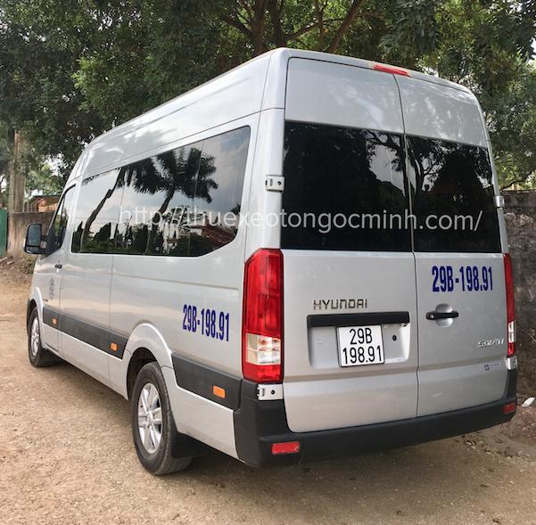 Thuê xe 16 chỗ Hyundai Solati tại Hà Nội