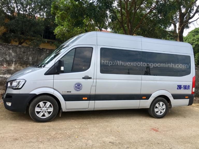 Ngọc Minh cho thuê xe 16 chỗ đi đền mẫu Âu Cơ giá rẻ, chất lượng