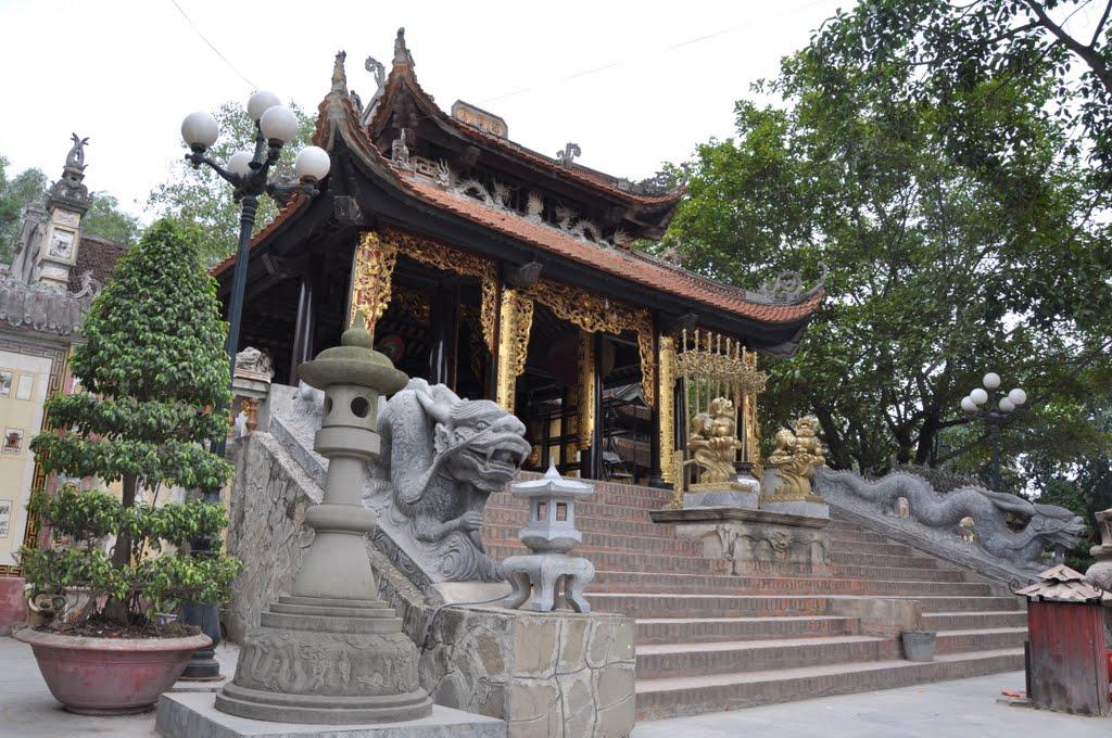 Một góc đền Bà Chúa Kho Bắc Ninh