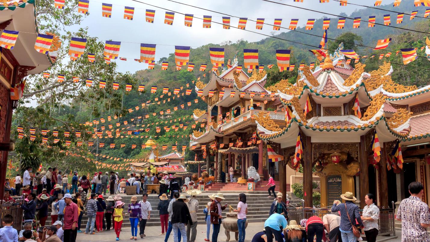 Núi Bà Đen - Tây Ninh những ngày cuối năm
