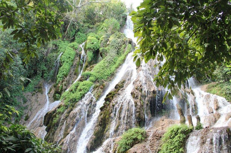 Thiên nhiên hoang sơ thác Pùng - Mai Châu
