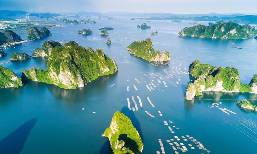 Vịnh Hạ Long một trong những nơi đẹp nhất Thế giới