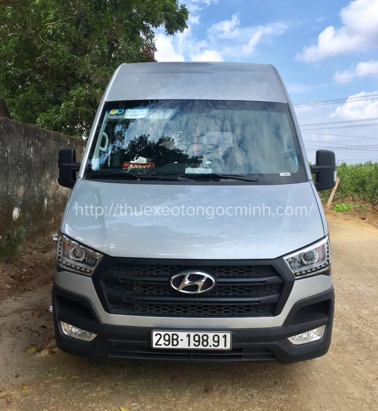 Ngọc Minh cho thuê xe du lịch 16 chỗ Solati tại Hà Nội