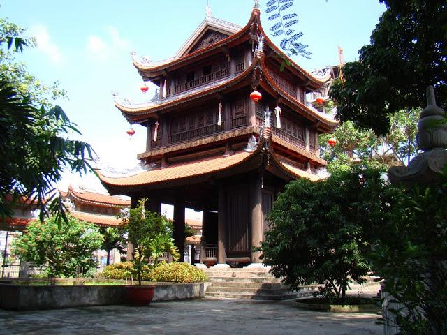 Nét kiến trúc độc đáo của chùa Keo - Thái Bình