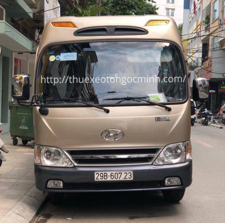 Ngọc Minh - Đơn vị cho thuê xe 29 chỗ đi hàng đầu