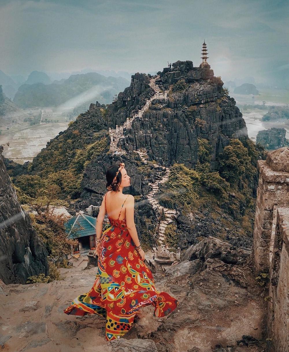 """Mê đắm vẻ đẹp """" Vạn Lý Trường Thành"""" ở Ninh Bình"""