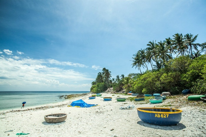 Đảo An Bình thiên đường xanh ở Lý Sơn