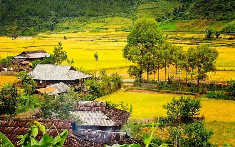 Khám phá ngôi làng Pơ Mu tại Ngọc Chiến
