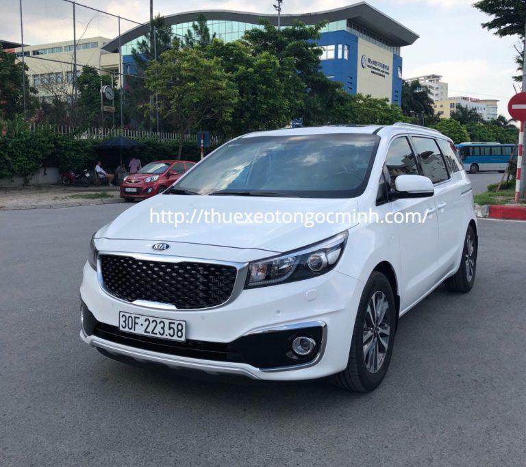 Dịch vụ cho thuê xe 7 chỗ đi hồ Xạ Hương - Vĩnh Phúc