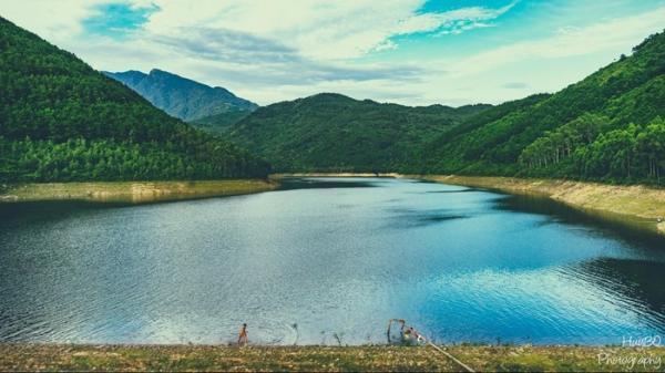 Hồ Xạ Hương - thiên đường xanh ở Vĩnh Phúc