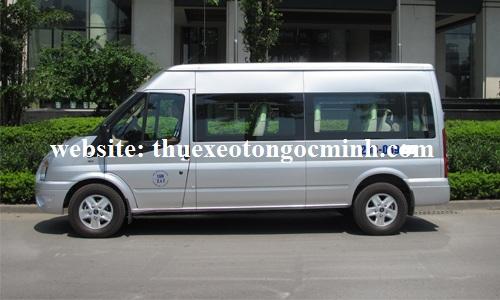 Thuê xe 16 chỗ đi Móng Cái tại xe Ngọc Minh