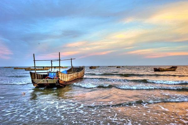 Bãi biển Trà Cổ đẹp quá!