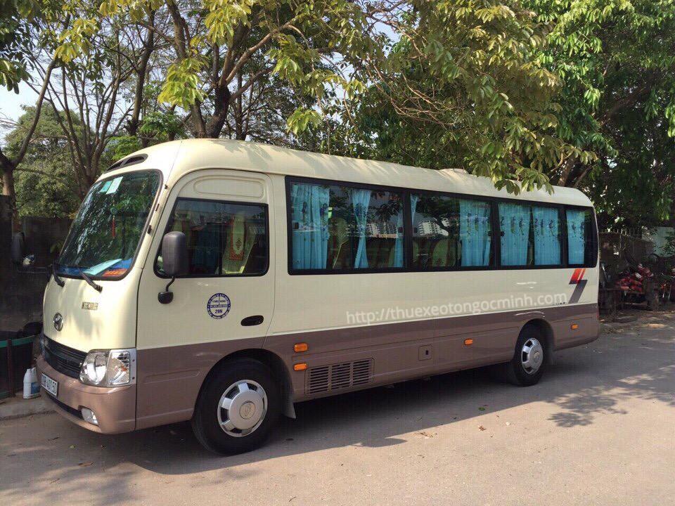 Cho thuê xe 29 chỗ đi Yên Bái trọn gói tại Hà Nội