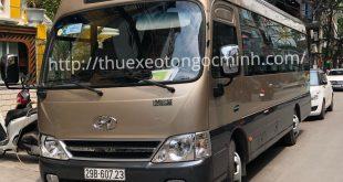 Cho thuê xe 29 chỗ đi Tuyên Quang