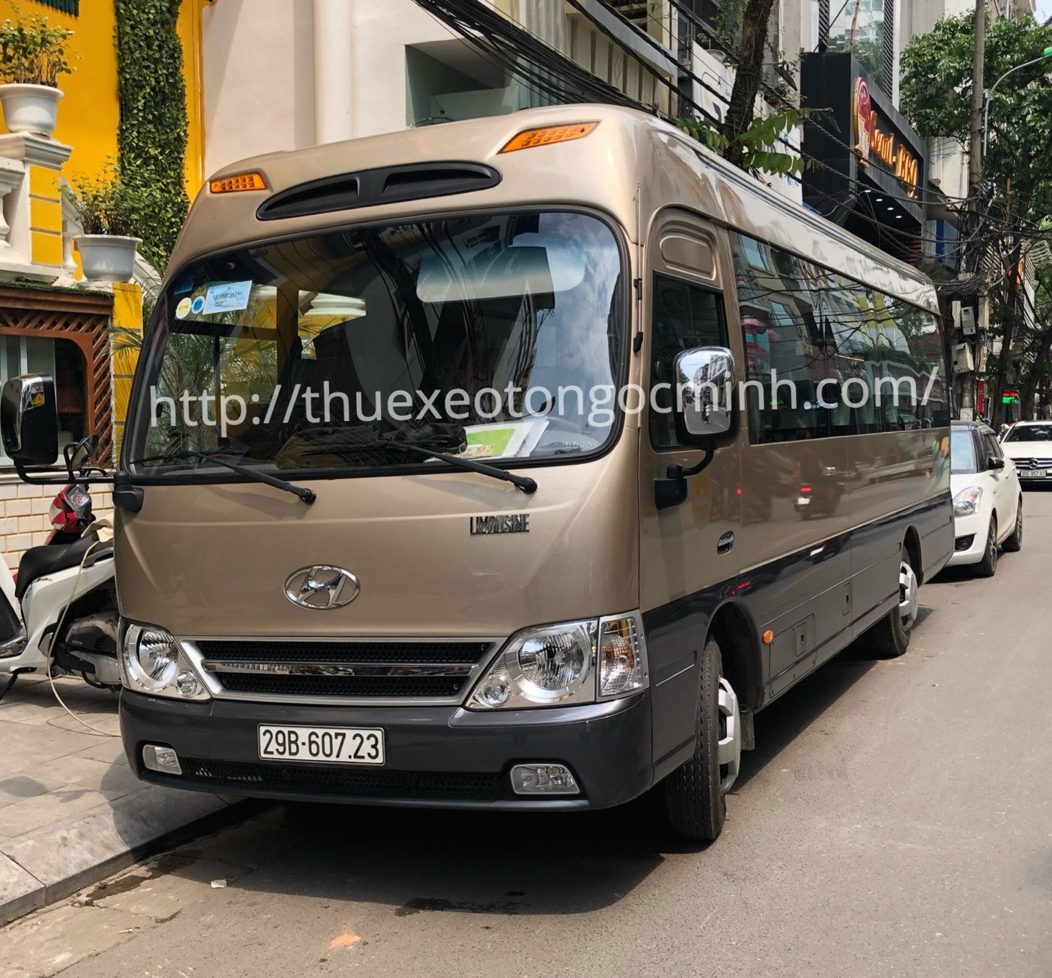 Cho thuê xe 29 chỗ đi Tuyên Quang uy tín tại Hà Nội