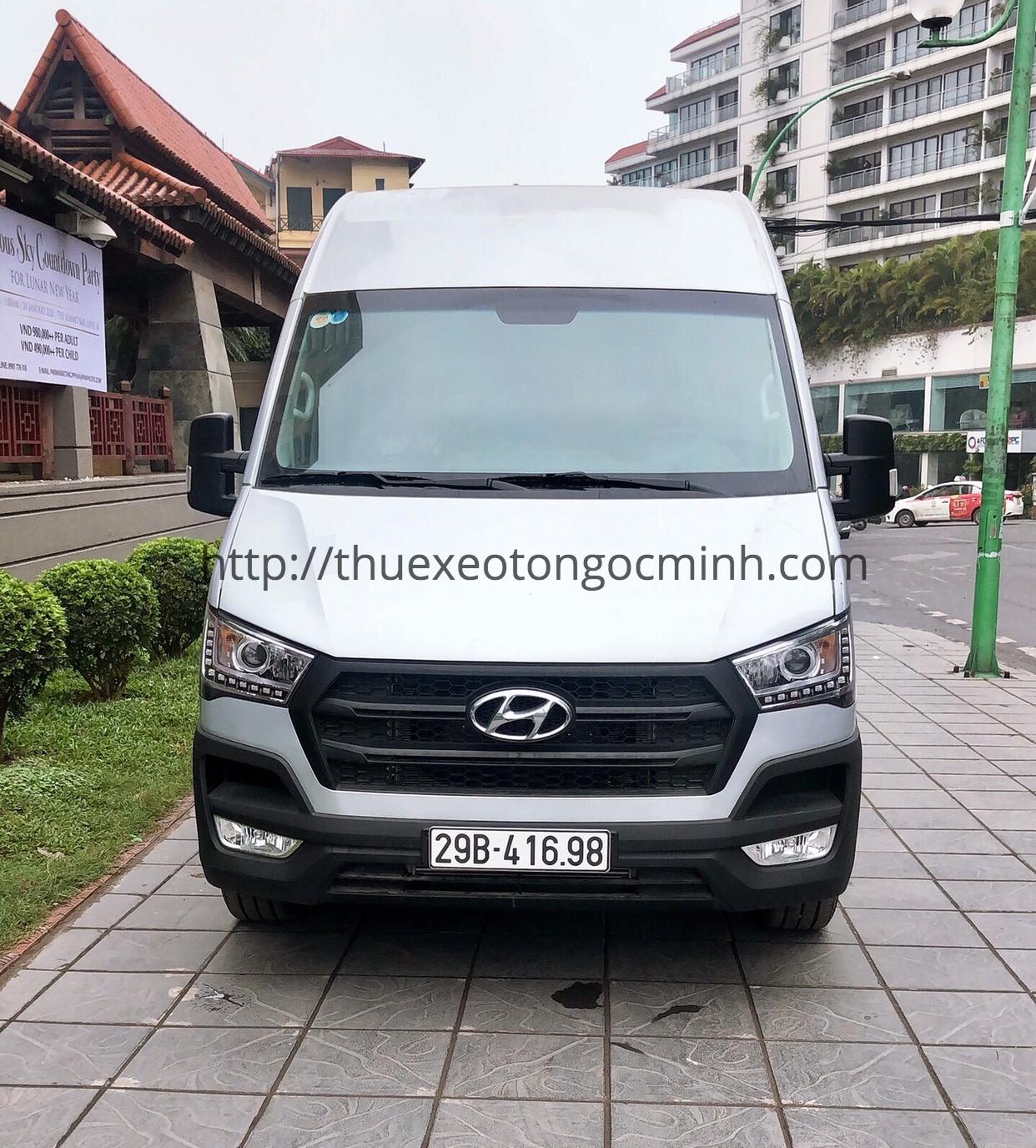 Cho thuê xe Hyundai Solati 16 chỗ giá rẻ nhất Hà Nội