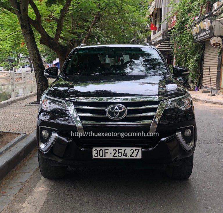 Thuê xe Fortuner 7 chỗ giá tốt nhất Hà Nội