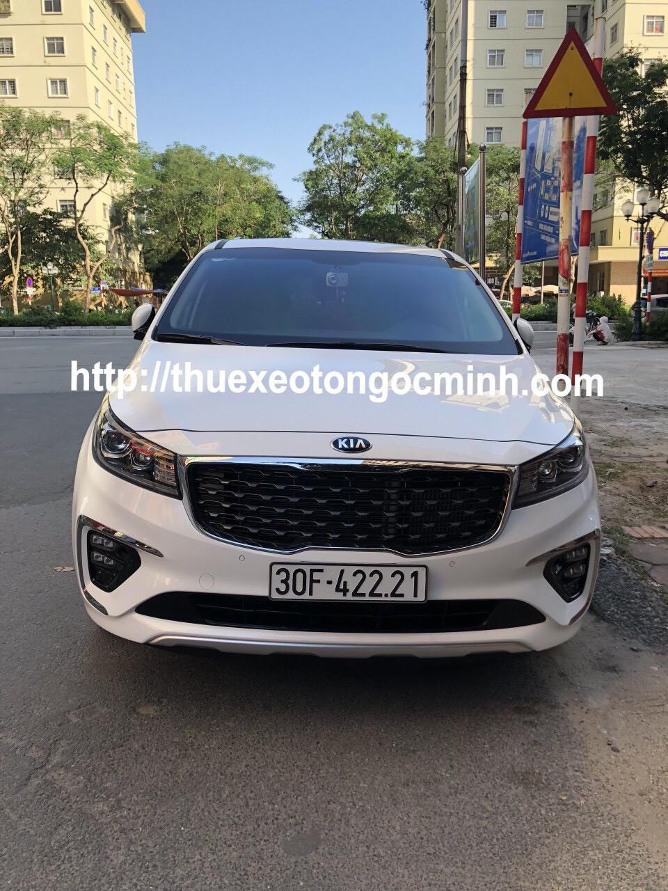Cho thuê xe Sedona 7 chỗ theo tháng giá rẻ tại Hà Nội