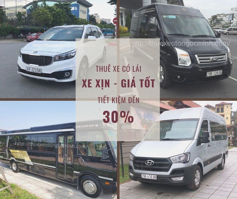 Dịch vụ cho thuê xe ô tô Ngọc Minh