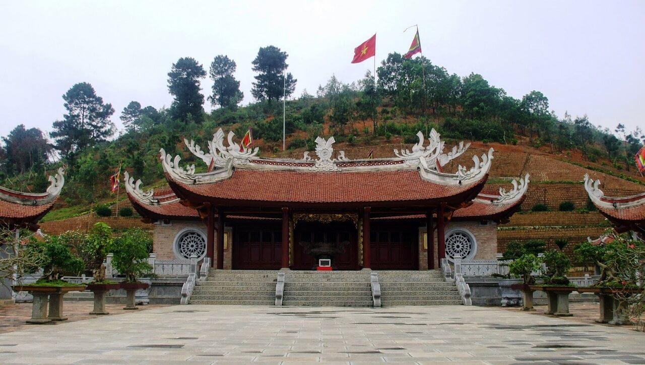 Image result for đền hùng